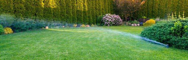 irrigation system and sprinklers installation service contractor