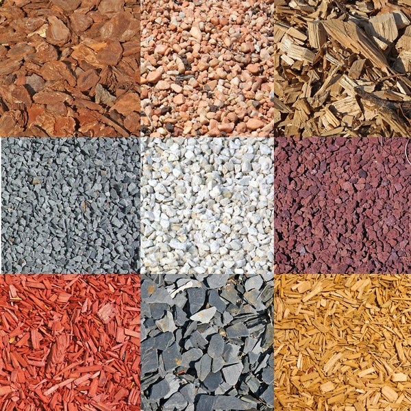rock and mulch installation services